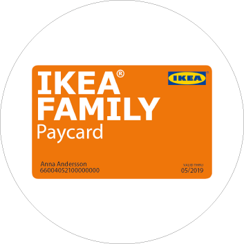IKEA FAMILY Paycard